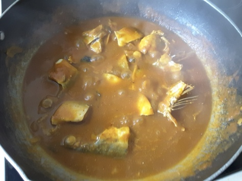 Mackerel Curry (Mangalorean)